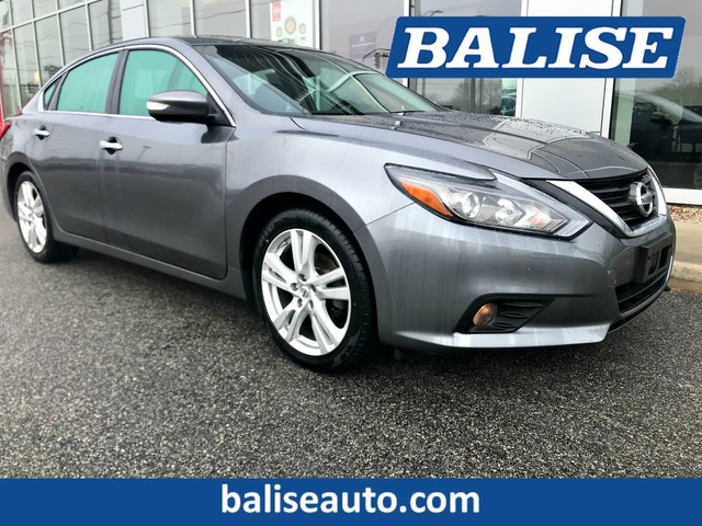 2016 Nissan Altima 3.5 Sl >> Certified Pre Owned 2016 Nissan Altima 3 5 Sl Front Wheel Drive Sedan