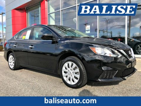 Certified Pre-Owned 2017 Nissan Sentra S 6 Speed Manual